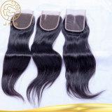 安いインドのバージンのまっすぐな人間の毛髪の編むこと