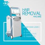 Вертикальное Non удаление волос лазера диода канала 808nm
