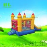 Buntes aufblasbares kombiniertes federnd Schloss für Kinder