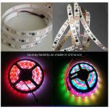 Ce&RoHS ha approvato l'indicatore luminoso di striscia di sogno di colore LED di Ws2811 LED