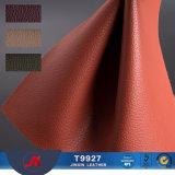 Jinxin 2018最も新しい革MateralのソファーのためのLicheeパターンレザー
