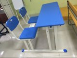 Neuer Entwurfs-permanenter einzelner Schreibtisch und Stuhl für Schule