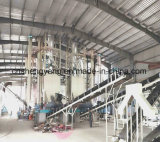 Linha de produção automática placa da placa de partícula da eficiência elevada do fornecedor de China de partícula que faz a máquina