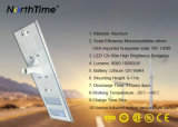 10000 Lumens 90W LED Integrated Solar Street Light with Ce/RoHS