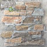 시골풍 규암 시멘트 벽 돌 베니어 위원회 및 구석