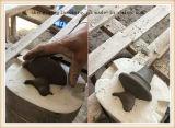 Colorare il contenitore di vetro di vetro del POT di memoria con l'articolo da cucina di ceramica del vaso di memoria dell'alimento del coperchio