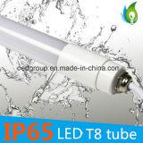 보장 3 년을%s 가진 방수 T8 0.6m LED 관 빛을 모는 9W AC85-265V 일정한 현재