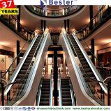 Vários paralelo escada rolante cruzado para o Banco, Loja de departamento e do Centro Comercial