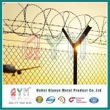 Загородка колючей проволоки тюрьмы авиапорта загородки авиапорта порошка Coated