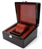 Luxuxglanz-Lack-Uhr-Holz-Kasten