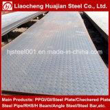 Placa Checkered da hora do estoque do material A36