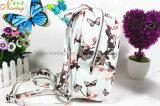 Backpack 2016 PU печатание бабочки способа кожаный