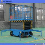 Einfaches Geschäfts-bewegliche hydraulische Scissor Aufzug
