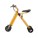 250W tres ruedas plegable de 8 pulgadas mini bicicleta eléctrica