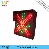 Semáforo Señal de la estación de peaje de alta Camino Rojo LED verde