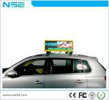 P2.5 LEIDENE van de Taxi Vertoning met Dubbele Kant Openlucht