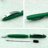 Bolígrafo barato de la pluma plástica colorida en venta