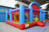 Inflatable variopinto Bouncer Combo con Obstacle Course (chb562)