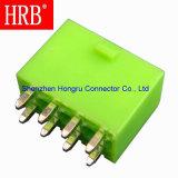 Conector recto del montaje del PWB del verde