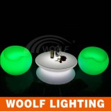 LEDの家具多彩な携帯用LED棒表のプラスチック
