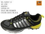 Six chaussures de sport de taille d'hommes d'unité centrale de couleurs