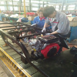 Adulto triciclo de carga elétrica híbrido com capacidade de carga de 1000 kg