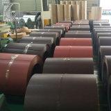 0.37/0.45*1250 Ral8007/9006 strich galvanisierten Stahlring vor