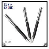 Pen van uitstekende kwaliteit van het Embleem van het Vat van het Leer de Pen Gepersonaliseerde