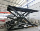 Hidráulica tipo tijera mesa elevadora de autos en venta