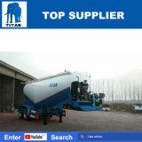 タイタンの手段-セメントのための2つの車軸バナナバルクセメントタンクトラックのトレーラー30-35トンの