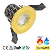 Feuer Nenn-LED Downlight des Cer-SAA 8W IP65 Dimmable mit der Anzeigetafel veränderbar