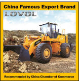 Chargeur de roue de la qualité 5ton de la Chine avec du CE et l'ISO9001