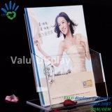 Preiswerter Acrylzeitschriften-Regal-/Brochure-Halter-/Buch-Ausstellungsstand
