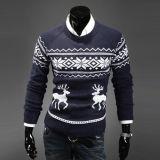 Camisola feita malha Natal do pulôver do homem novo do projeto