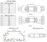 Twee-Wire4-20mA de Verdeler dIN1X1/DIN2X2ISO4-20mA-F van de isolatie