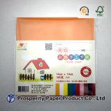 수공예를 위한 최신 판매 100% 목재 펄프 A4 색깔 종이