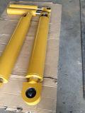 Tipo cilindro hidráulico cromado taxa de Parker dos compressores do lixo da luva