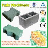 Bon marché semi-automatique machine à briques de béton multifonction