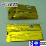 Sachet à thé stratifié d'empaquetage en plastique de papier d'aluminium