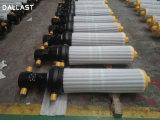 Customized média pressão do cilindro hidráulico de ação simples