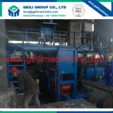 Máquina de carcaça contínua completa do equipamento/máquina da fábrica de aço