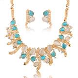 Última moda elegante conjunto de Joyas joyas de cristal personalizados Artificial