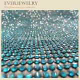 롤에 있는 질 수정같은 모조 다이아몬드 메시를 도매하십시오