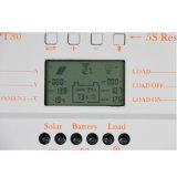 30А 24V/12V солнечного контроллера заряда MPPT USB-5V+M30 Chargge ШИМ