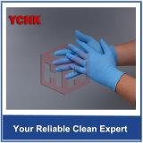 Puder-freie Wegwerfnitril-Handschuhe Antiacidum und Alkali-Labormedizinische Inspektion-Nitril-Gummi-Handschuhe