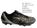 Numéro 52024 deux hommes de couleurs et Madame Football Stock Shoes