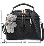 Signora Handbag Fashion signora Handbag (WDL0159) di disegno della chiusura lampo lunga Nizza