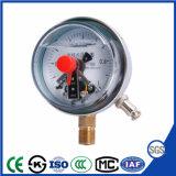 Résistant aux chocs de 100mm - contact électrique avec manomètre Accurary 1,6 %