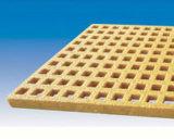 FRP geformte quadratische/rechteckige Vergitterung mit korrosionsbeständigem