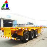 20FT 40FT LKW-Chassis-Behälter-Sattelschlepper mit Torsion-Verschluss